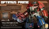 Op de planeet Cybertron ziet Optimus Prime er een tikkeltje anders uit.