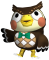 Afbeelding voor amiibo Blathers - Animal Crossing Collection