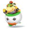 Afbeelding voor amiibo Bowser Jr Nr 43 - Super Smash Bros series