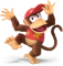 Afbeelding voor amiibo Diddy Kong Nr 14 - Super Smash Bros series