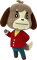 Afbeelding voor Amiibo Digby - Animal Crossing Collection