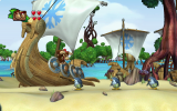 Speel het prachtige spel samen met een andere aap... uh vriend!