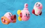 Kirby is voorbereid ter land, ter zee en in de lucht.