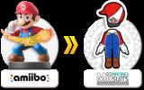 Verkrijg een Mario-kostuum voor je Mii in <a href = http://www.mariowii-u.nl/Wii-U-spel-info.php?t=Mario_Kart_8>Mario Kart 8</a> met deze amiibo.