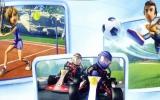 Voetbal, tennis, karten, baseball, rugby en golf zijn de te beoefenen sporten.