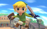 Vecht tegen je eigen Toon Link amiibo in <a href = http://www.mariowii-u.nl/Wii-U-spel-info.php?t=Super_Smash_Bros_for_Wii_U>Super Smash Bros for Wii U</a>!