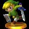 Afbeelding voor amiibo Toon Link Nr 22 - Super Smash Bros series
