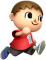 Afbeelding voor amiibo Villager Nr 9 - Super Smash Bros series