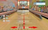 Ook kun je trainingsspellen spelen, zoals bowlen met veel meer kegels.