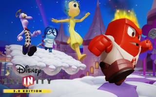 De andere Inside Out-karakters zijn ook van de partij.