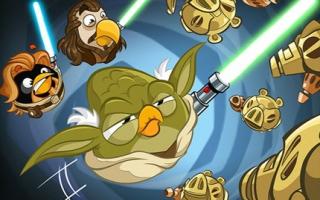 """""""Yoda, kun je ook raak slaan? Je bent toch zeker niet kippig...?"""""""