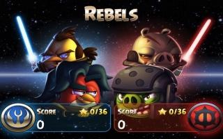 Kies zelf aan welke kant je staat; de 'Jedi Birds' of de 'Pork Side'