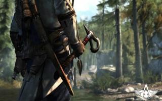 De tomahawk, een van de vele wapens die je kunt krijgen.