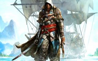 Edward Kenway, de piraat die zweert alles terug te nemen wat van hem en zijn crew was.
