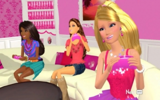 Speel als Barbie en haar vrienden, Barbie en Barbie... Wacht, zijn het allemaal Barbies?