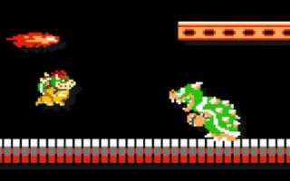 Gebruik de <a href = https://www.mariowii-u.nl/Wii-U-spel-info.php?t=Bowser_Nr_20_-_Super_Smash_Bros_series>Bowser amiibo</a> in <a href = https://www.mariowii-u.nl/Wii-U-spel-info.php?t=Super_Mario_Maker>Super Mario Maker</a> voor een Bowser kostuum.
