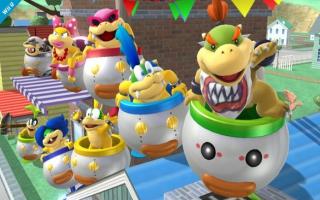 Deze amiibo kan in <a href = https://www.mariowii-u.nl/Wii-U-spel-info.php?t=Super_Smash_Bros_for_Wii_U>Super Smash Bros</a>. voor Wii U en 3DS de vorm aannemen van Bowser Jr, of een van de Koopalings.