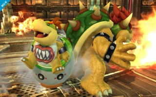 Bowser en Bowser Junior vechten mee in <a href = https://www.mariowii-u.nl/Wii-U-spel-info.php?t=Super_Smash_Bros_for_Wii_U>Super Smash Bros. 4</a>