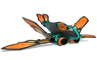 Dit is de Buzz Wing, het voertuig van <a href = https://www.mariowii-u.nl/Wii-U-spel-info.php?t=Thrillipede_-_Skylanders_Superchargers_Character>Thrillipede</a>.