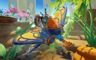 De Buzz Wing wordt supercharged door <a href = https://www.mariowii-u.nl/Wii-U-spel-info.php?t=Thrillipede_-_Skylanders_Superchargers_Character>Thrillipede</a>.