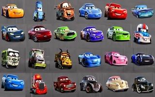 Hier zie je alle auto's waar je het parcour mee op kan!