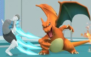Gebruik Charizard in <a href = https://www.mariowii-u.nl/Wii-U-spel-info.php?t=Super_Smash_Bros_for_Wii_U>Super Smash Bros</a>. voor Wii U of 3DS!