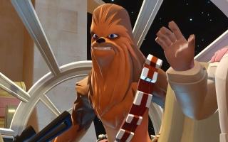 Chewbacca is de co-piloot van de Millenium Falcon en het maatje van <a href = https://www.mariowii-u.nl/Wii-U-spel-info.php?t=Han_Solo_-_Disney_Infinity_30>Han Solo</a>.