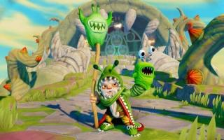 Ook in de game is <a href = https://www.mariowii-u.nl/Wii-U-spel-info.php?t=Chompy_Mage_-_Skylanders_Imaginators_In_Game_Variant>Chompy Mage</a> mooi gedetailleerd. Hij speelt goed en is leuk om te hebben.