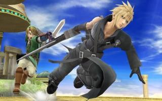 De look komt origineel uit de film Final Fantasy 7: Advent Children.