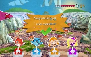 Speel met maximaal 3 andere spelers, die de rol van Cocoto's vrienden aannemen!