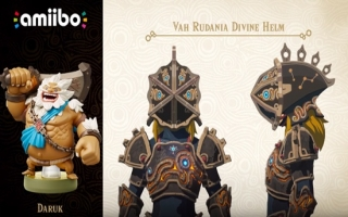 Verkrijg de Vah Rudania armor met deze amiibo in Zelda <a href = https://www.mariowii-u.nl/Wii-U-spel-info.php?t=The_Legend_of_Zelda_Breath_of_the_Wild>Breath of the Wild</a>