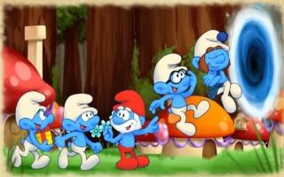 In deze game speel je als de Smurfen uit de gelijknamige film, en ga je op avontuur in New York!