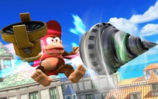 Diddy Kong Nr 14 - Super Smash Bros series: Screenshot