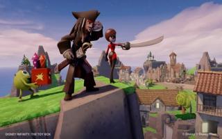 Zoals je kan zien, kunnen personages ook elkaars wapens gebruiken.