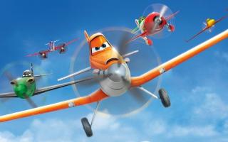 Speel als de vliegtuigen uit de film, die leven in de wereld van Cars!
