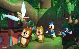 Donald Duck - Disney Infinity 20: Screenshot
