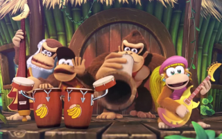 Wat doen apen in hun vrije tijd? Natuurlijk, ze vormen een band! Een nieuwe DK Rap in aantocht?