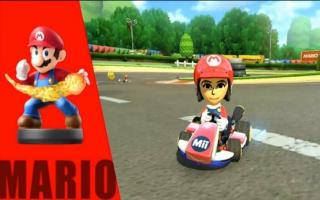 In <a href = https://www.mariowii-u.nl/Wii-U-spel-info.php?t=Mario_Kart_8>Mario Kart 8</a> werkt de Dr. <a href = https://www.mariowii-u.nl/Wii-U-spel-info.php?t=Mario_Nr_1_-_Super_Smash_Bros_series>Mario amiibo</a> als de gewone Mario amiibo!