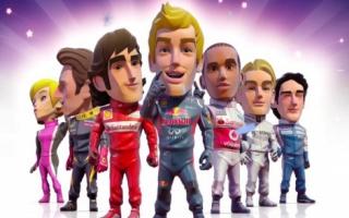 In deze game speel je als echte, beroemde Formule 1-coureurs.