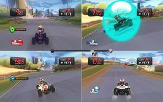 Je kan met maximaal vier andere spelers spelen in multiplayer!