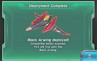 Gebruik een speciale Arwing met de Falco amiibo in <a href = https://www.mariowii-u.nl/Wii-U-spel-info.php?t=Star_Fox_Zero>Starfox Zero</a>!