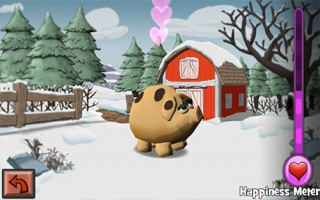 Een varken en een stal: verboden liefde. Het heeft iets tragisch...