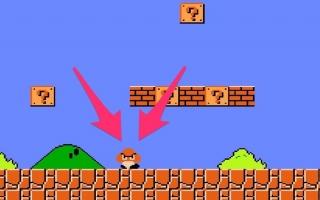 Veel verandert sinds de eerste Mario