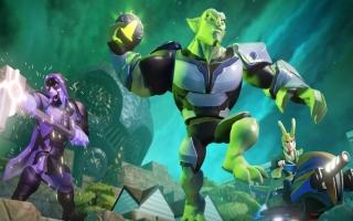 Green Goblin - Disney Infinity 20: Screenshot