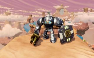 High Volt - Skylanders SuperChargers: Afbeelding met speelbare characters