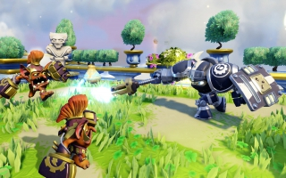 High Volt - Skylanders SuperChargers: Screenshot
