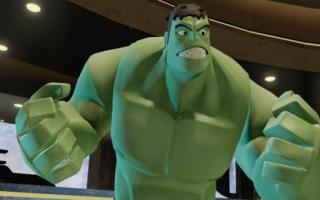 Hulk is weer eens zijn kalmeringspilletje vergeten!