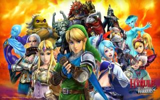<a href = https://www.mariowii-u.nl/Wii-U-spel-info.php?t=Hyrule_Warriors>Hyrule Warriors</a> bevat vele speelbare personages uit de The Legend of Zelda-serie.