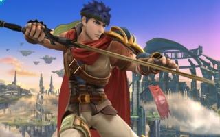 Ike, zoals hij verschijnt in Super Smash Brothers for <a href = https://www.mariowii-u.nl>Wii U</a>.