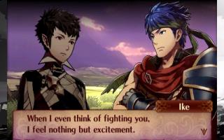 Ike als speelbaar extra karakter in Fire Emblem Fates.